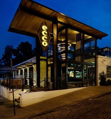 The Ecco Restaurant In Atlanta Georgia Alexan On 8th Apartments