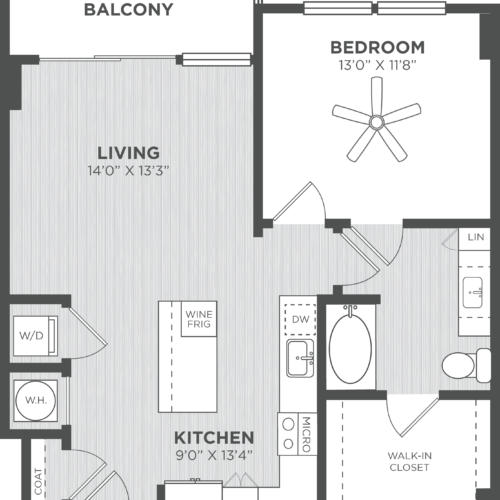 Atlanta One Bedroom Apartments