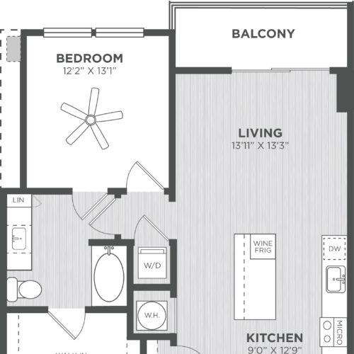 Indulge in One-Bedroom Opulence