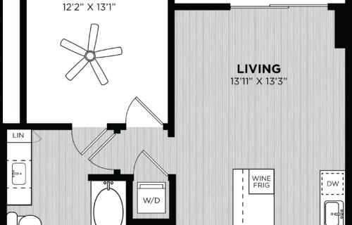 Atlanta one-bedroom apartments