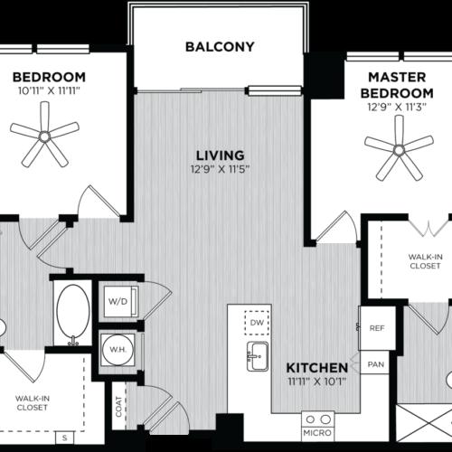 Atlanta two-bedroom apartments