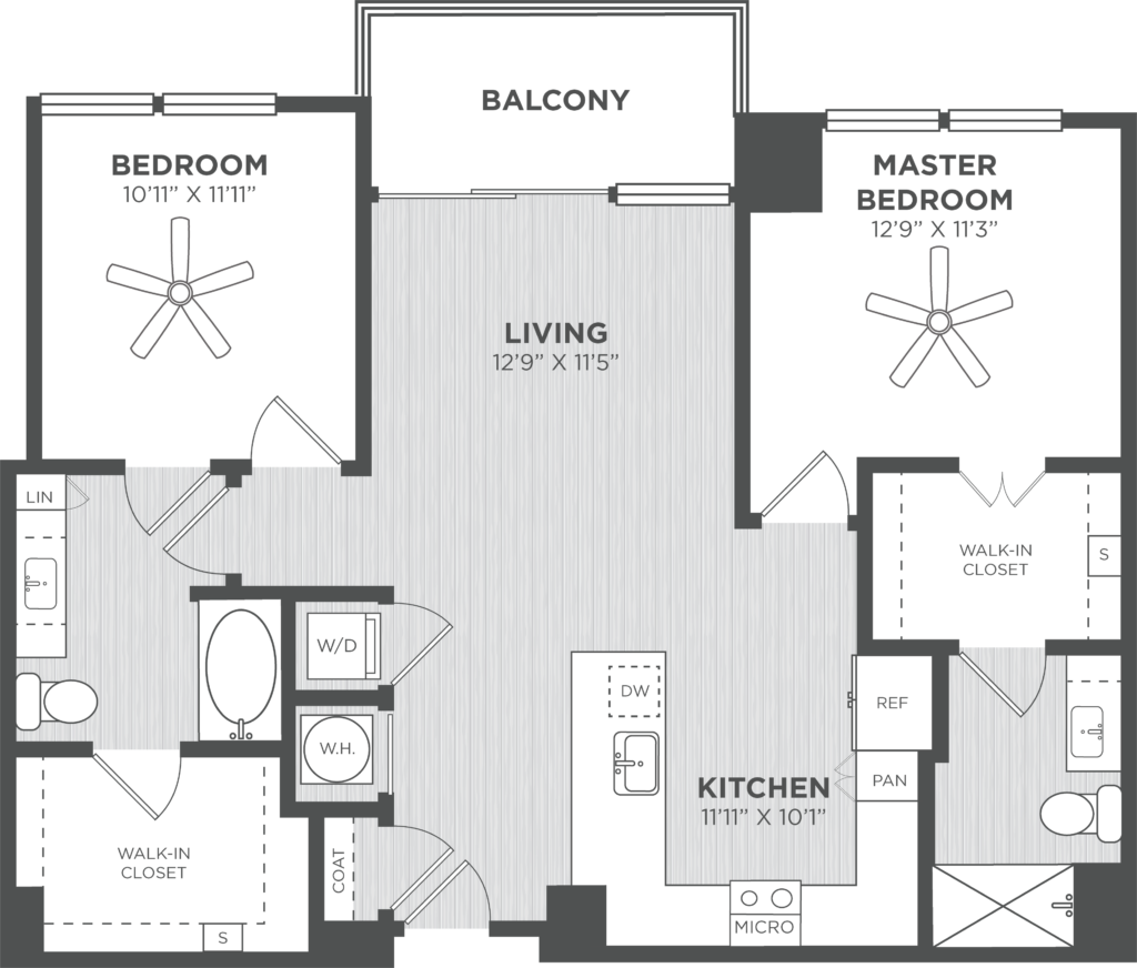 Atlanta two-bedroom apartments