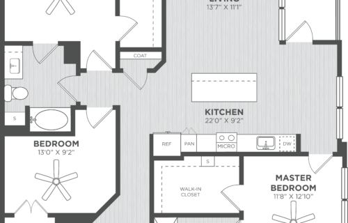 three-bedroom atlanta luxury apartments