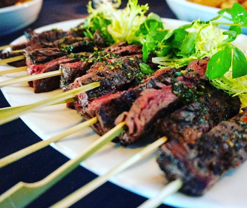 steak skewers - Reservations at STK Steakhouse - pic by Kwame O. on Yelp